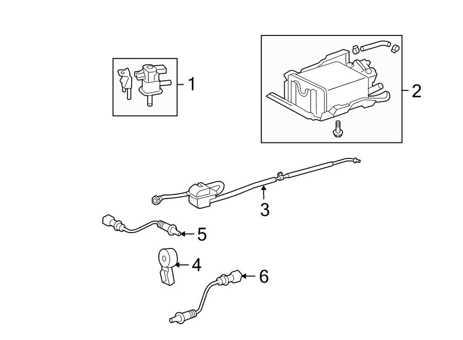 Toyota Rav4 Ignition Knock  Detonation  Sensor